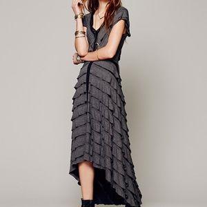 NWT Free People Mia Ruffle Dress